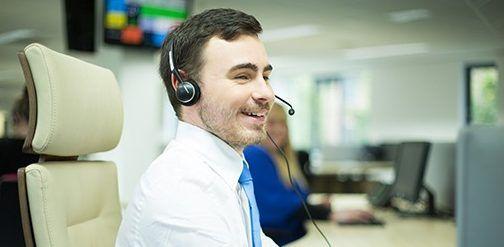 VCare - Smiling call handler
